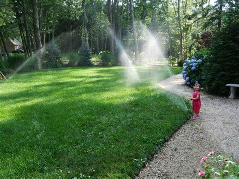 landscaping sprinklers aquatech lawn sprinkler irrigation systems