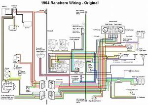 1964 Ford Falcon Ranchero Wiring Diagram  58471