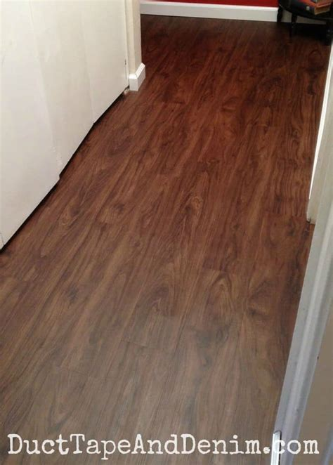 hall makeover  vinyl plank flooring