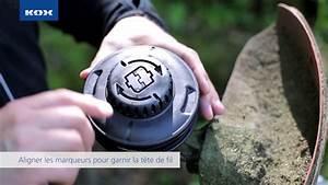Comment Changer Le Fil D Une Débroussailleuse : comment remplacer facilement la t te de fil youtube ~ Dailycaller-alerts.com Idées de Décoration
