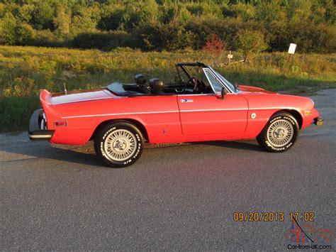 1978 Alfa Romeo by 1978 Alfa Romeo Spider Niki Lauda Special Edition