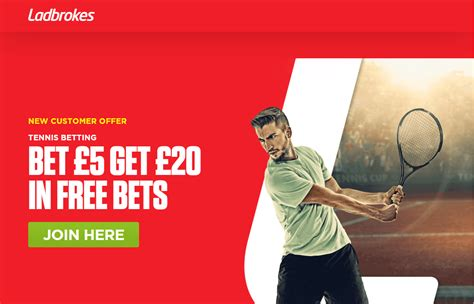 Bet £5 On Tennis & Get £20 In Free Bets From Ladbrokes ...