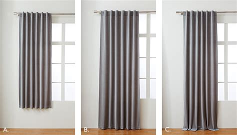 length of drapes choose the right curtains west elm