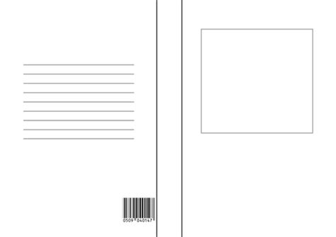 blank book cover template  display english pshe