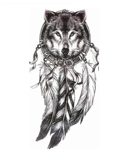 tatouage loup indien dd montrealeast