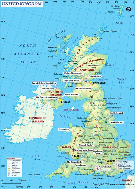 large uk map image uk maps images map  great