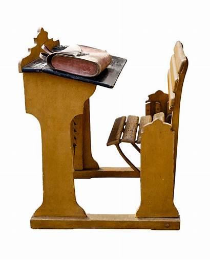 Desk Clipart Chair Transparent Desks Teacher Student