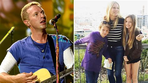 apple martin and chris martin chris martin 39 s kids apple and moses steal spotlight from