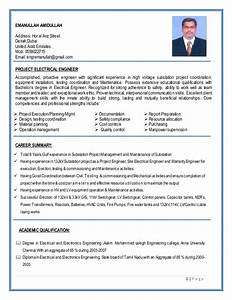 substation project construction electrical engineer resume With sample resume for electrical engineer in construction field