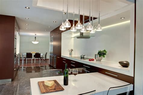 unique design luxury white brown moder kitchen den