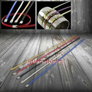 stainless steel mm zip tie cable wire header