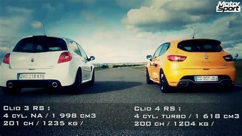 siege clio 3 drag race renault clio 4 rs vs clio 3 rs cup motorsport
