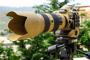 Military Grade  U0026quot Desert Mirage Lizard U0026quot  Painted Nikon Gear