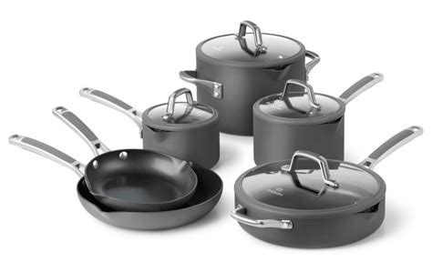 Calphalon Easy System Nonstick Cookware Set, 10 piece