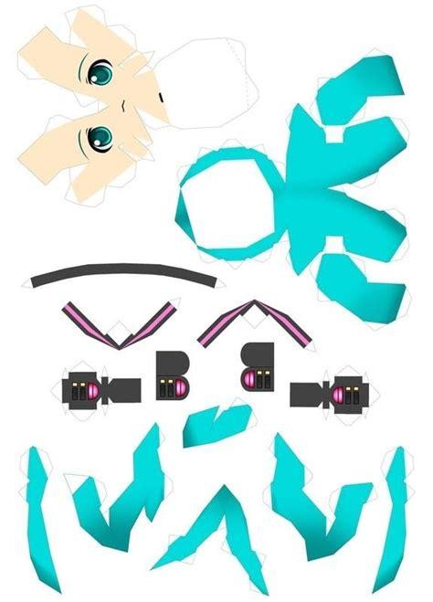 hatsune miku  papercraft papercraft  cut