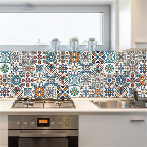 stickers for tiles in kitchen decorative tiles stickers motril pack of 16 tiles tile 8354