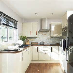 gloss kitchen tile ideas cream gloss kitchen where and why laminate flooring can work for you housetohome co uk