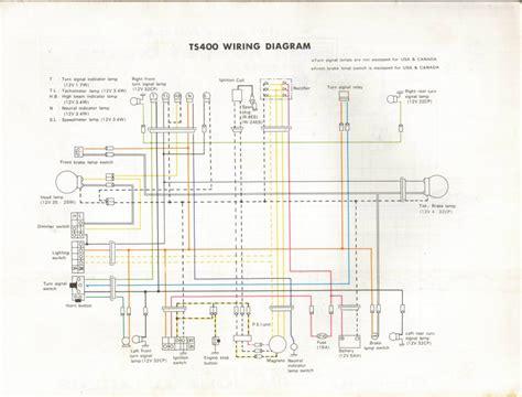 Suzuki Rv 125 Wiring Diagram by Original Suzuki Ts Tc Tm Forum Ts400 Wiring Diagram