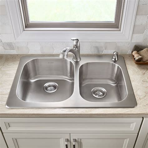 sullivan   stainless steel kitchen sink kit