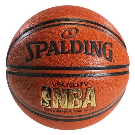 spalding nba velocity basketball basketballs  hayneedle