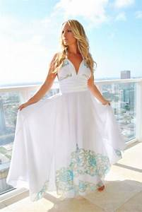 long white couture beach wedding dress dresses white With white maxi dress for beach wedding