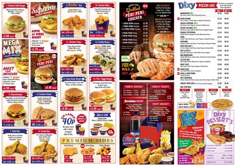 outstanding media dixy chicken menus