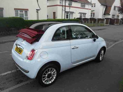 Fiat Lounge Convertible by Fiat 500c Lounge Convertible 2010 Car For Sale