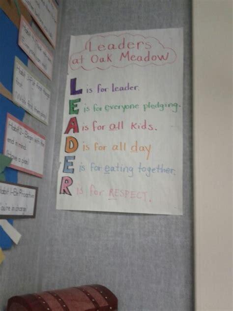 leader acrostic poem acrostic leader   acrostic poem