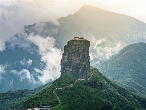 Mount Fanjing Bing Wallpaper Download