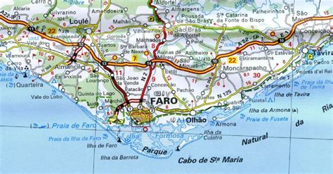 Carte Sud Espagne Portugal by Portugal Map Sintra