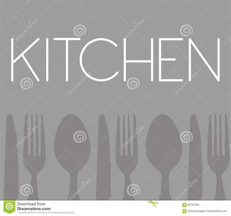 outil de cuisine illustration de vecteur image 60767229
