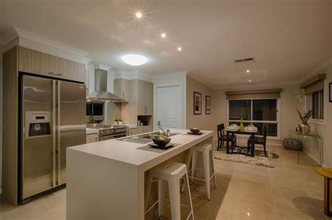 kitchen and design kitchen and meals area great use of mixing light colours 2174