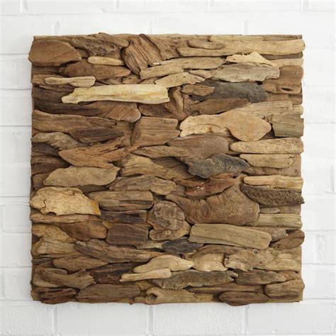 Wood Starfish Wall Decor by Driftwood Wall Art Panel Horizontal Pattern