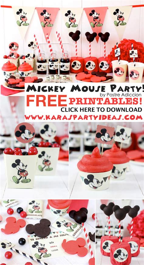 wedding party supplies kara 39 s party ideas mickey mouse themed birthday party with