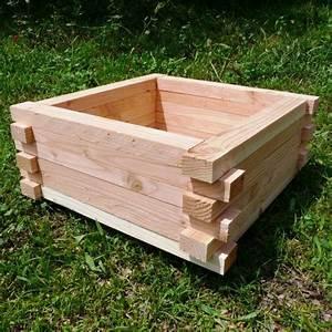 Fabriquer Un Bac Potager Avec Des Palettes : jardini re en bois de palette creation palette ~ Louise-bijoux.com Idées de Décoration