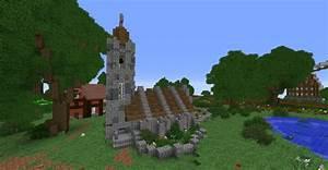 Häuser Im Mittelalter : mittelalterliche kirche tutorial in minecraft bauen ~ Lizthompson.info Haus und Dekorationen