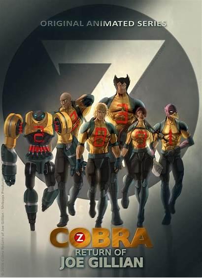 Cobra Joe Gillian Return Shibuya Space Productions