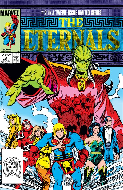 The Eternals (1985) #2 | Comic Issues | Marvel