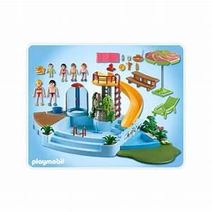 piscine playmobil trendyyycom With playmobil piscine avec toboggan pas cher