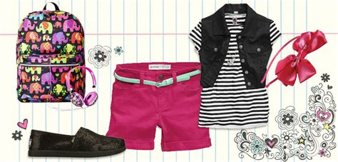 Back to School Clothing Challenge 4 kids + 4 outfits + 10 ...