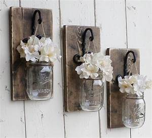 Newrustic farmhouse wood wall decor3 by for Rustic wall decor