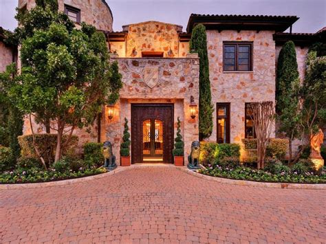 square foot spanish style mansion  austin tx