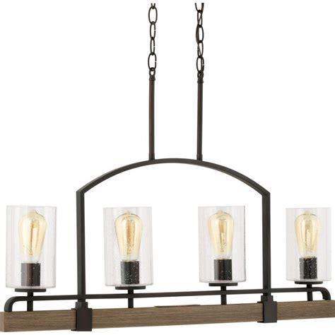 progress lighting grove collection 4 light vintage bronze
