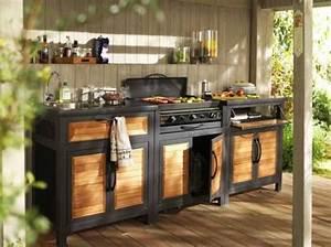 Meuble De Cuisine Exterieur : r sultats de recherche d 39 images pour fabriquer cuisine ext rieure en bois piscine ~ Melissatoandfro.com Idées de Décoration