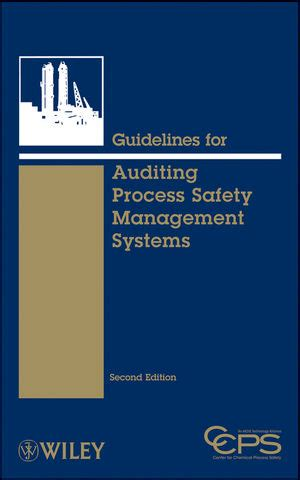 guidelines auditing process safety management systems edition