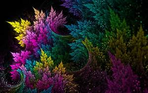 Colorful, Abstract, Fractal, Wallpapers, Hd, Desktop, And