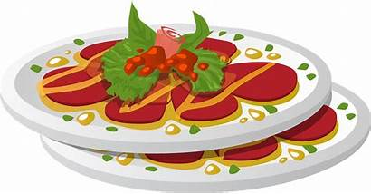 Plate Dish Dinner Meal Pixabay Vector Clipart