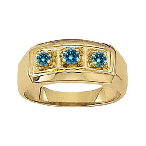 carat blue diamond classy  stone mens man anniversary