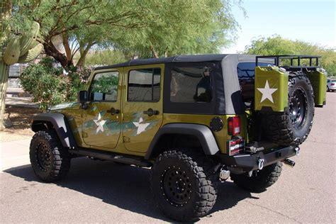 modified 4 door jeep wrangler 2007 jeep wrangler custom 4 door 39 war wagon 39 60603