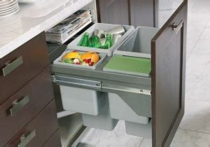 kitchen cabinet trash drawer pull out cutting board above the pull out compost or 5840
